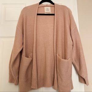 UO Collie Open-Front Cardigan